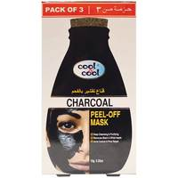 Cool & Cool Charcoal Peel Off Mask 3 Piece