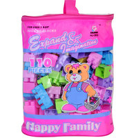 Goldkids Block Happy Family 110Pc