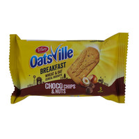 Tiffany OatsVille Breakfast Wheat & Oat Cereal Biscuits Choco Chips & Nuts 50g