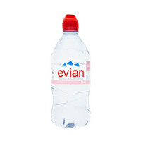Evian Natural Mineral Water Sports Plastic bottle 75CL