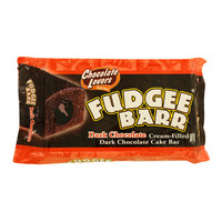 Fudgee Barr Dark Chocolate Cream Filled Dark Chocolate Cake Bar 38gx10