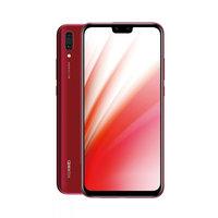هواوي سمارت فون Y9 2019 نانو ثنائي الشريحة 64 جيجا بايت أندرويد لون أحمر