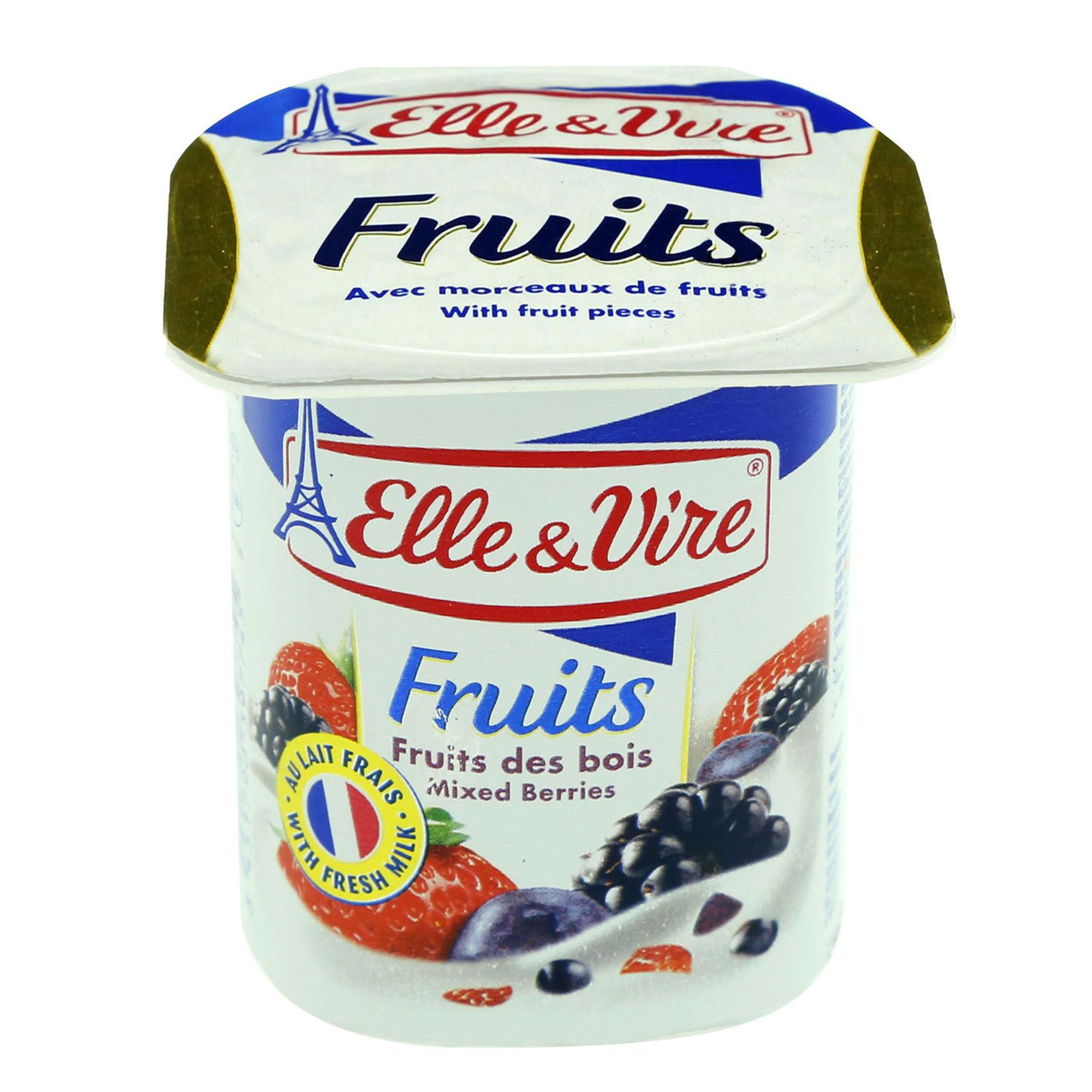 ELLE&VIRE YOG FOREST FRUIT 125G