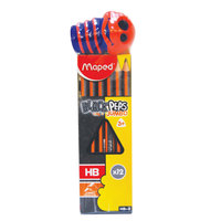 Maped Jumbo Pencil 1Box+ 1Sharpner