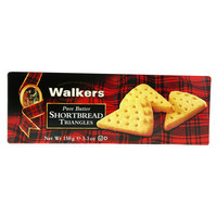 Walkers Pure Butter Shortbread Triangles 150g