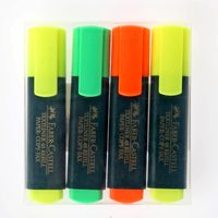 Faber-Castell Highlighter 4'S - 2 Y+1 R+1G