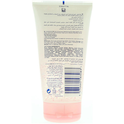 Johnson'S-Face-Care-Daily-Essentials-Refreshing-Gel-Wash-For-Normal-Skin-150ml