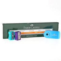 Faber-Castell Hb  Pencil 12+2 Sharpener +Eraser