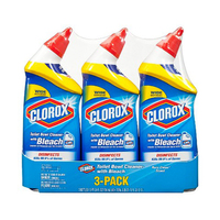 Clorox Toilet Bowl Cleaner With Bleach 709ML 3 Pack