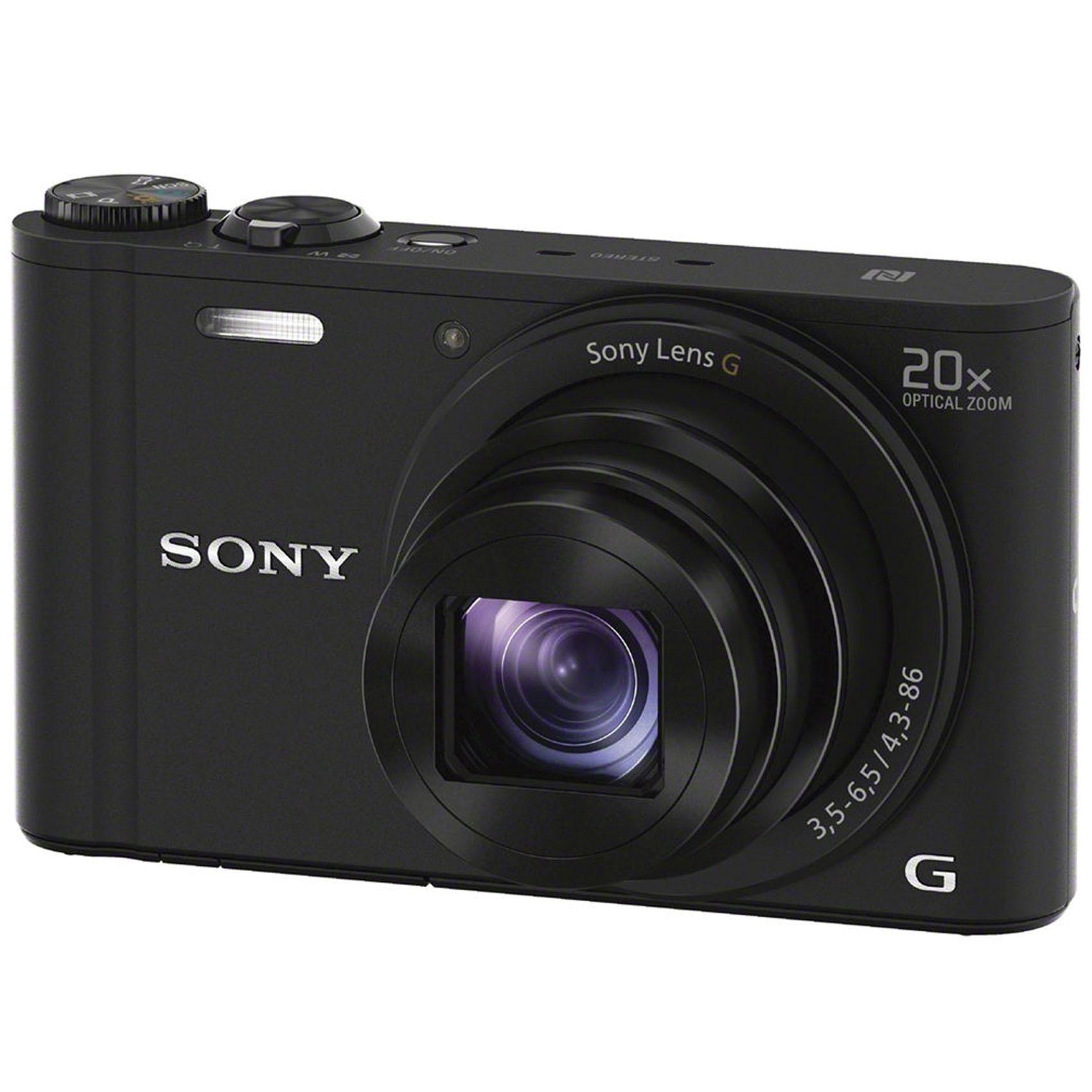SONY CMR DSCWX350B+8GB+CASE