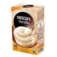 Nescafe Vanilla Instant Foaming Mix 10sticksx 18.5 g