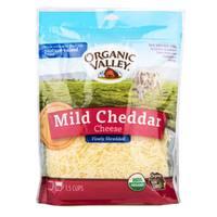 Organic Valley Mild Cheddar Cheese Shredded 170g
