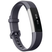 Fitbit Wearable Alta Heart Rate Large Black Gray