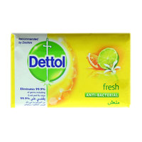 Dettol Fresh Anti- Bacterial Soap 165g