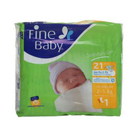 Fine Baby Diapers For New Born 21 Pieces
