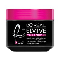 L'Oreal Paris Elvive Hair Styling Cream Jar Arginine Resist X3 Anti Hair-Fall