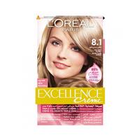 L'Oreal Paris  Excellence Colour Cream Ash Blonde No 8.1 -10% Off