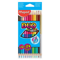 Maped Color Peps Dbl Color Pencil 12X24