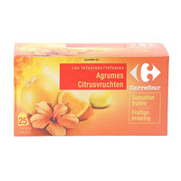 Carrefour Citrus Infusion Bags 25's