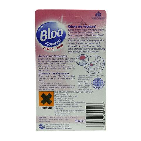 Bloo-Flowers-Sweet-Tulip-Liquid-Toilet-Freshener-50ml