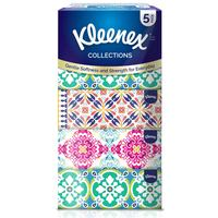 Kleenex Collections Facial Tissue 200 Sheets X5 Pack