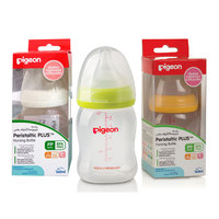 Pigeon Plastic Wide Neck Feeding Bottle 160ml