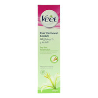 Veet Shea Butter And Lily Fragrance For Dry Skin Hair Removal Cream 100g