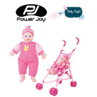 Power Joy Baby Cayla Trolley With doll 36 cm