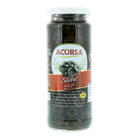 Acorsa Sliced Black Olives 470g