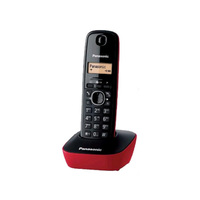 Panasonic Cordless Phone KXTG-1611 Red