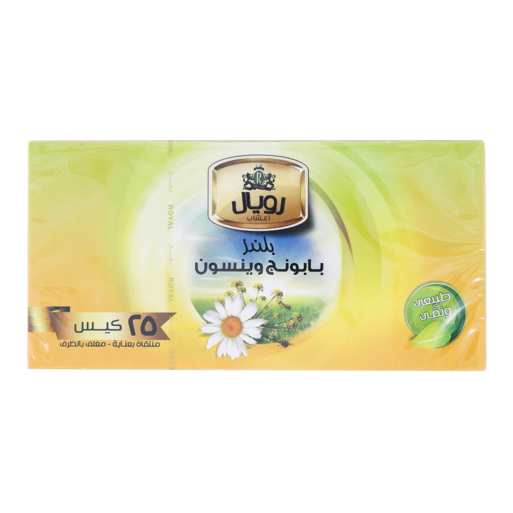 ROYAL CHAMOMILE W/ANISE TEA 25X1.5G