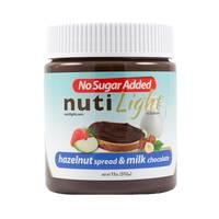 Nuti light hazelnut spread & milk chocolate 312 g