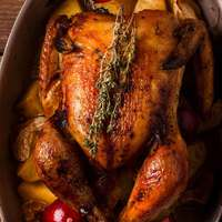 Stuffed Whole Roasted Turkey By Kg