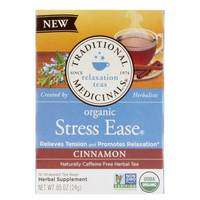 Traditional Medicinals Organic Stress Ease Tea Cinnamon 24g