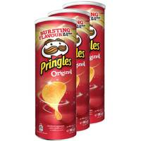 Pringles Chips Assorted 165g x3