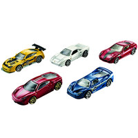 Hotwheels Diecast Set 1:43 5Pcs Assorted