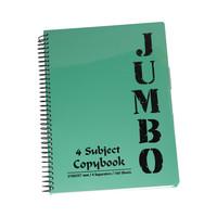 Mintra Jumbo Notebook 4 Subject A4 160 Sheet 201