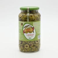كوبوليفا زيتون اخضر شرائح معلب 510 جرام