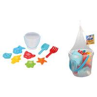 Color Beach Toys 9 Pcs Set