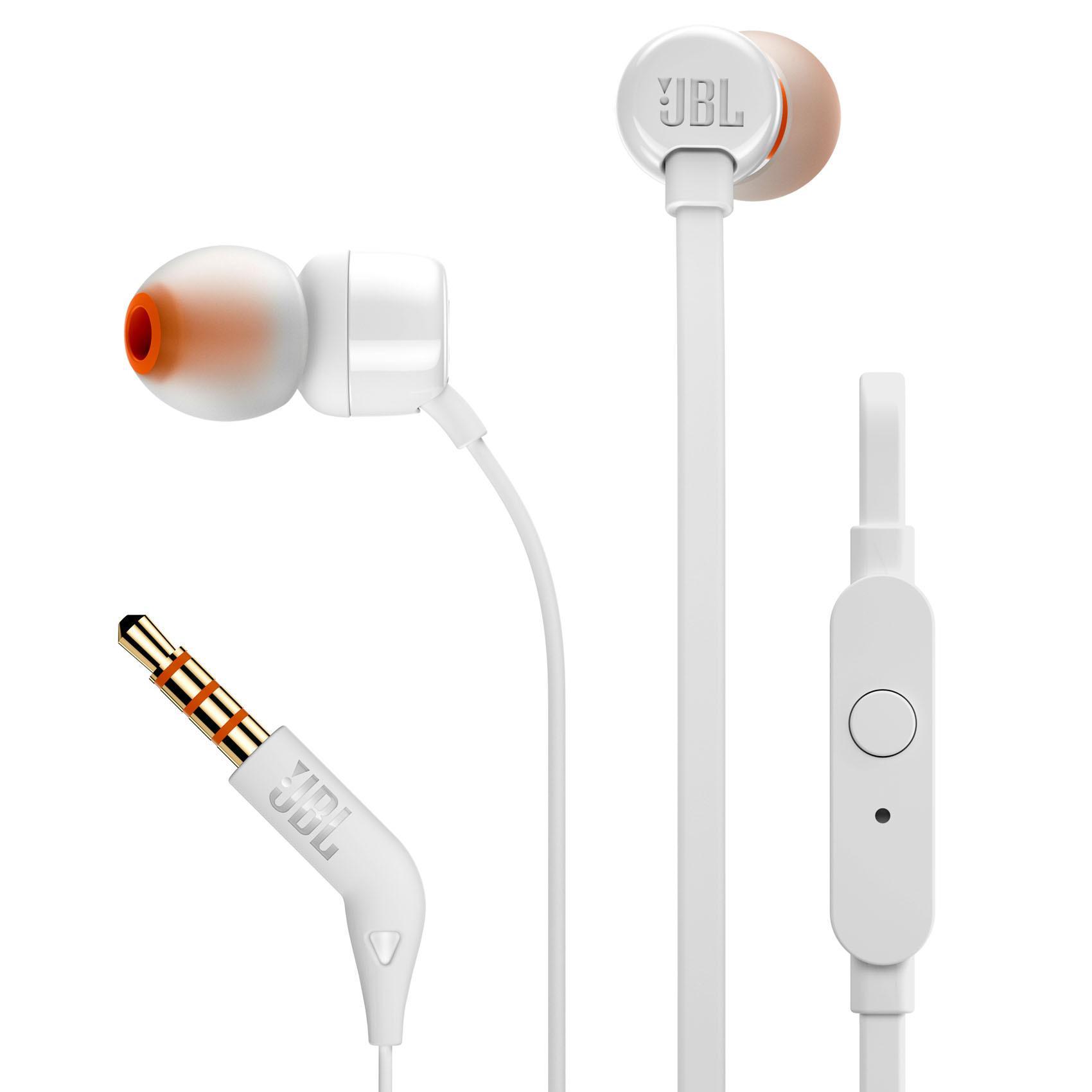 JBL EARPHONE T110 WH