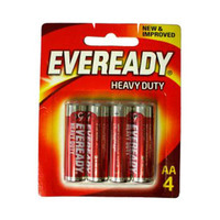Eveready Heavy Dute Batteries  AA X4