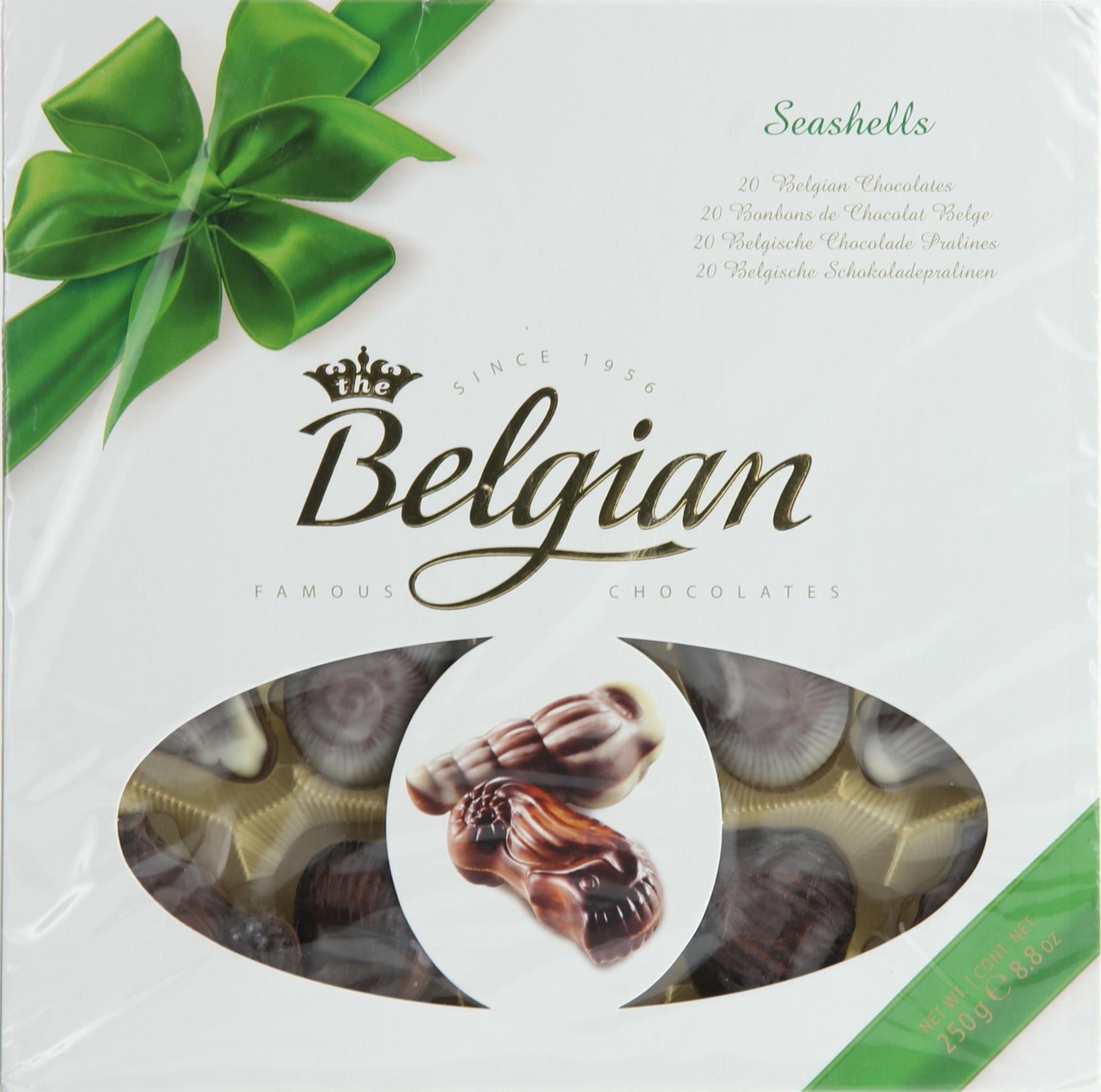 BELGIAN CHOCO SEASHELL 250GR