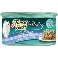 Purina Fancy Feast Medleys Tuna Tuscany Wet Cat Food 85 g