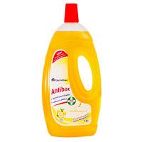 كارفور سائل 4 في 1 للأرضيات ومتعدد الأغراض رائحة الليمون 1.8 لتر
