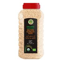 Organic Larder Organic Himalayan Brown Basmati Rice 4.5kg