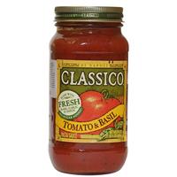 Classico Tomato & Basil Pasta Sauce 680g