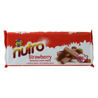 Nutro Strawberry Flavoured Cream Wafers 75g