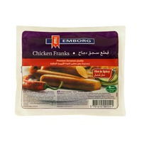 Emborg Chicken Franks Hot & Spicy 340g