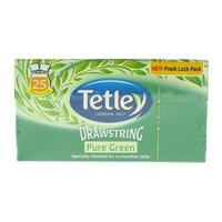 Tetley Drawstring Pure Green Tea Bags 25's
