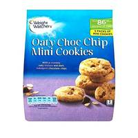Weight Watchers Crumbly Oaty Choc Chip Mini Cookies 95g